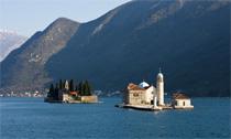 Islands in the Bay of Kotor