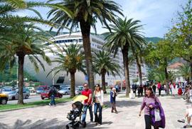Kotor cruise ship