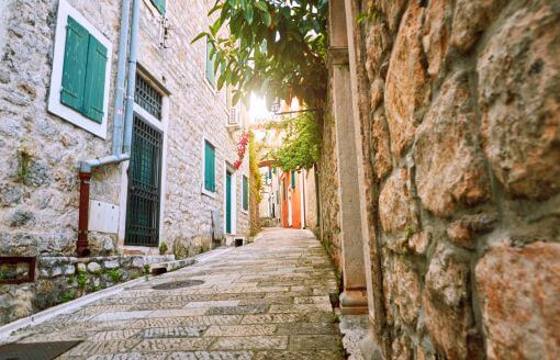 Herceg Novi old street