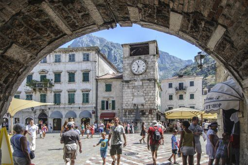 Kotor square