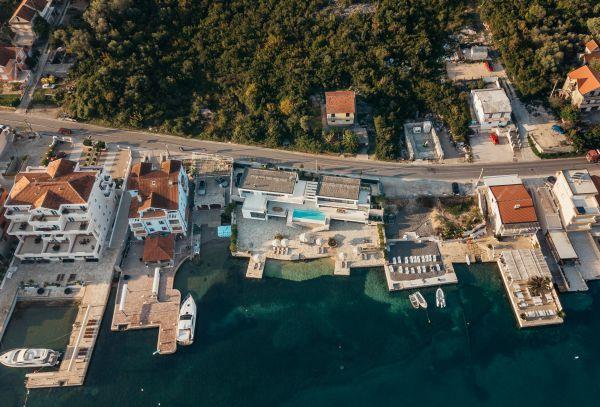 Villa Ann Marie aerial view