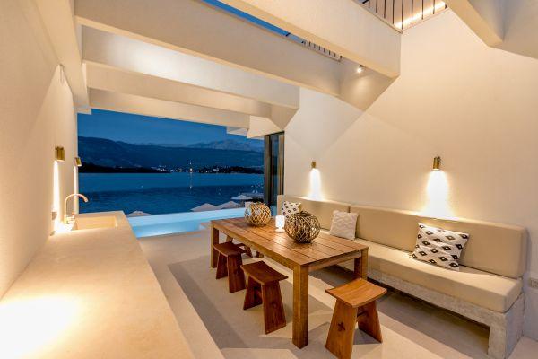 Villa Ann Marie covered terrace