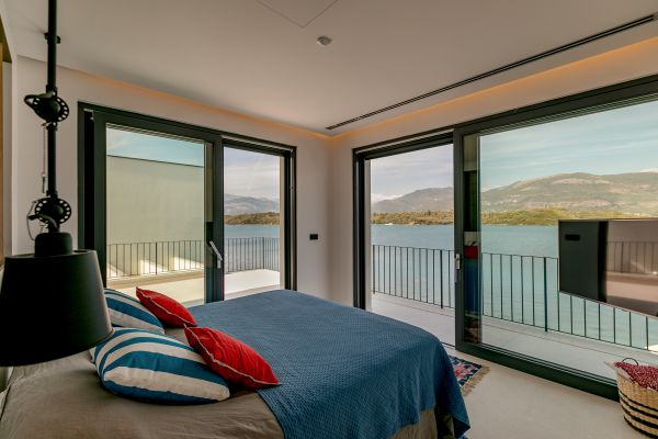 Villa Ann Marie double bedroom with sea view