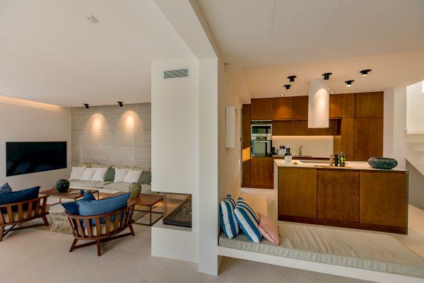 Villa Ann Marie kitchen living area