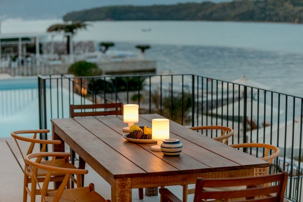 Villa Ann Marie outside dining
