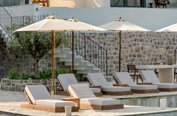 Villa Ann Marie sea front terrace