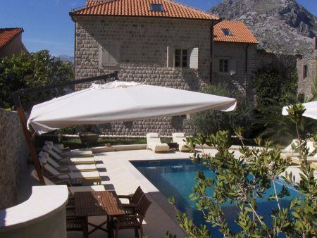 Villa Cattara and pool terrace