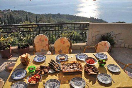 Terrace meal