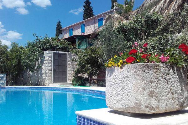 Pool with Villa Montenegro Sunrise