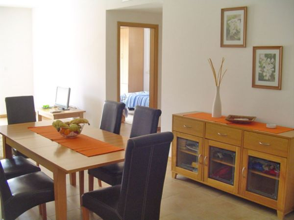 Dining area (typical example)